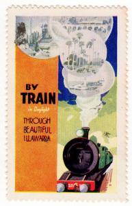 (I.B) Australia - NSW Government Railways : Promotional Label (Illawarra)