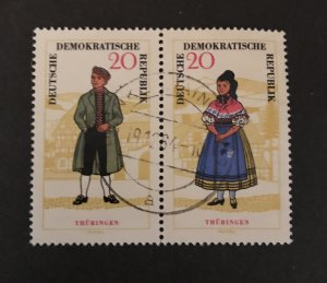 DDR 1964 #744A  Used/CTO