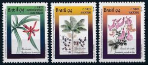 [63813] Brazil 1994 Flora Flowers Blumen  MNH