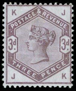 SG191, 3d lilac, LH MINT. Cat £280. JK