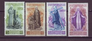 J21543 Jlstamps 1948 italy set mh #489-92 st catherine