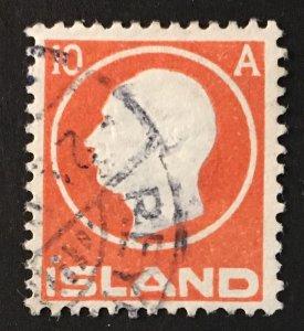 Iceland Sc. #93, used