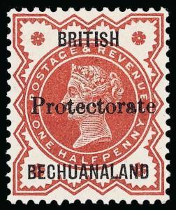 Bechuanaland Scott 53 Gibbons 54 Mint Stamp