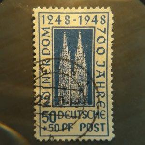 Germany  B301  1948  semi-postal  VF  Used