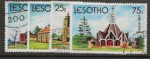 Nickel Auction. Lesotho 314-317 u