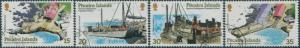 Pitcairn Islands 1978 SG190-193 Harbour Development set FU