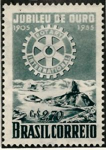 Rotary International Brazil 817 MNH F-VF...High Quality Collectable!