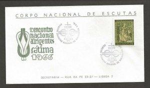 1966 Portugal Scouts Fatima encontro nacional airigentes