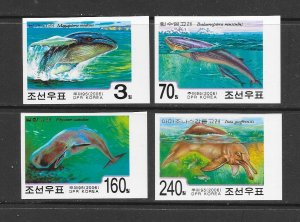 WHALES -  KOREA (N) #4624-7  WHALES & DOLPHINS  MNH