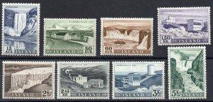 Iceland - Sc# 289 - 296 MLH    -     Lot 0221591