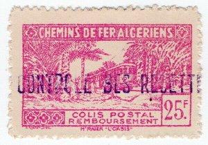 (I.B) France Colonial Railway : Algeria Chemins de Fer 25F
