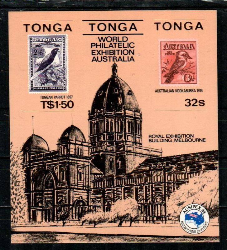 Tonga MNH S/S 589A Ausipex 1984