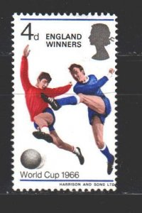 Great Britain. 1966. 422x from the series. Football. MNH.