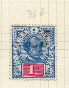 Sarawak 1899 Early Issue Fine Mint Hinged 1c. 276142