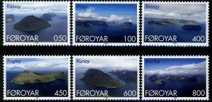 Faroe Islands - 1999 - Islands type  MNH set # 356-361
