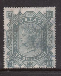 Great Britain #74 Used Fine With Maltese Cross Watermark