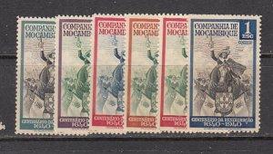 Moz Co SC# 202-7  1941 King John IV set mnh