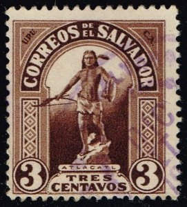 El Salvador #497 Atlacatl; Used (2Stars)