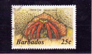 Barbados  Scott#  646  Used