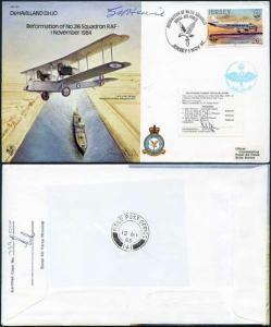 B11c Reformation of No.216 Squadron Signed by Capt Howie (C)