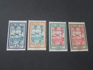 French Guiana 1932 Sc J1-J4 MH