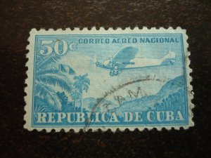 Stamps - Cuba - Scott# C130 - Used Airmail Stamp