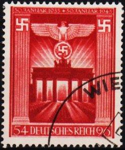 Germany.. 1943 54pf+96pf S.G.817 Fine Used