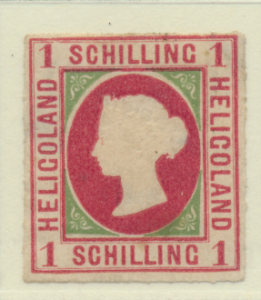 Heligoland Stamp Scott #2, Unused, No Gum - Free U.S. Shipping, Free Worldwid...