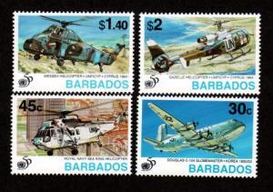 Barbados 901-904 Mint NH MNH UN 50th Anniversary!