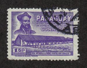 Paraguay Scott #522 Used