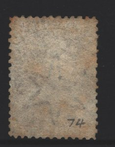 New Zealand Sc #18 Used perf 13x13