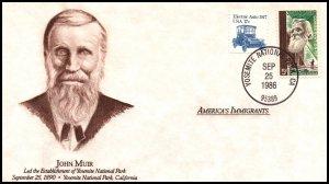 US American Immigrants John Muir 1986 Cover