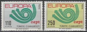 Turkey #1935-6 F-VF Unused CV $10.00 (35)