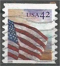 UNITED STATES, 2008, used 42c Flag Scott 4234