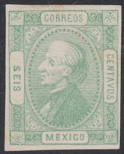 MEXICO  An old forgery of a classic stamp...................................F820