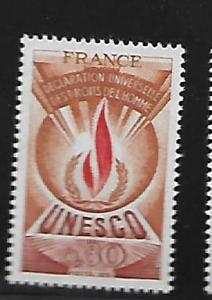 FRANCE, 2O14, MNH, HUMAN RIGHTS FLAME
