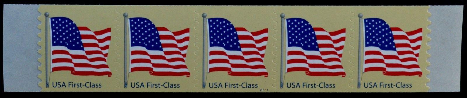 2007 Us Sc 4134 Flag Non Denom Pnc5 Pl V1111 Mnh See