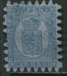 Finland 1866 20 penna used