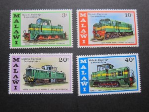 Malawi 1976 Sc 289-292 set MNH