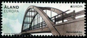 HERRICKSTAMP NEW ISSUES ALAND Sc.# 406 EUROPA 2018 Bridges