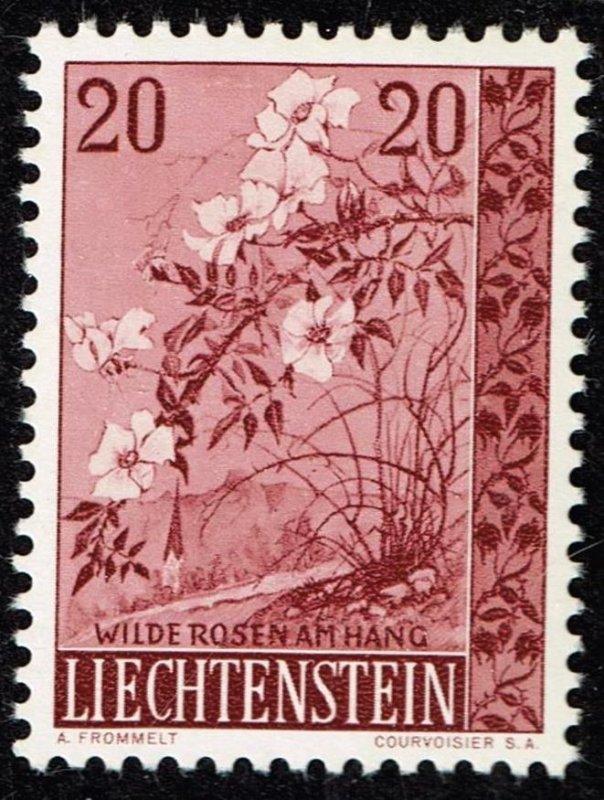Liechtenstein Stamp 1957 Trees and Bushes MH/OG STAMP 20 RP