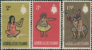 Gilbert Ellice Islands 1968 SG136-143 Islanders QEII FU