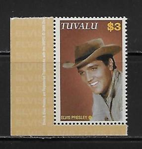 Tuvalu 986 Elvis single MNH