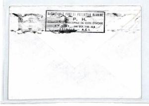 CM200 *IVORY COAST* Air Mail MIVA Missionary Cover