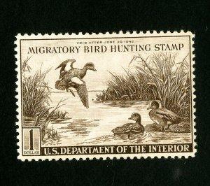 US Stamps # RW9 VF-XF OG NH