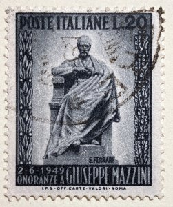 AlexStamps ITALY #519 VF Used