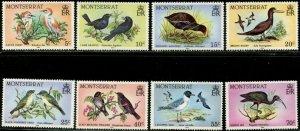 MONTSERRAT Sc#524-538 SG#600-614 1984 Birds Complete Mint OG NH