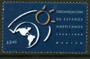 MEXICO 2072, 50th ANNIV. Organization of American States. MINT, NH. VF. (69)