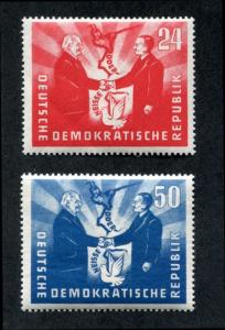 Germany: East (DDR) 80-81 MNH