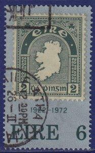 Ireland - 1972 - Scott #326 - used - Stamp on Stamp